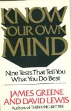 Know Your Own Mind, Greene, James and Lewis, David, 0892562684