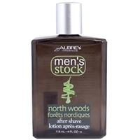 AUBREY Mens North Woods Aftershave, 4 Ounce