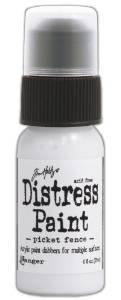 Ranger Tim Holtz Distress Paint Bottle, 1-Ounce, Picket ()