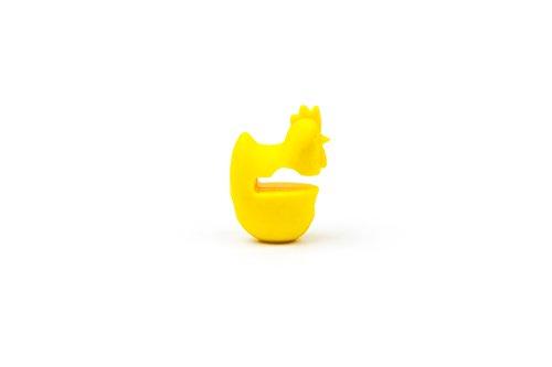 Fox Run 6282 Chicken Pot Clip/Spoon Holder One Size Yellow
