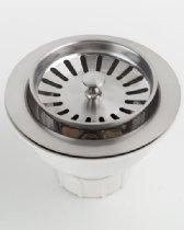 Jaclo 2807-BU Adjustable Lutz Sink Strainer for Kitchen Sinks, Bronze Umber, Bronze Umber