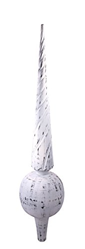 Dalvento Medium Venetian Finial- White Antique by Dalvento (Image #1)