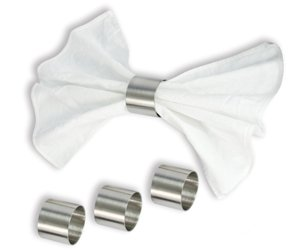Cuisinox Napkin Rings, 1.2 by 1.2 by 1.2-Inch, Set of 4 by Cuisinox