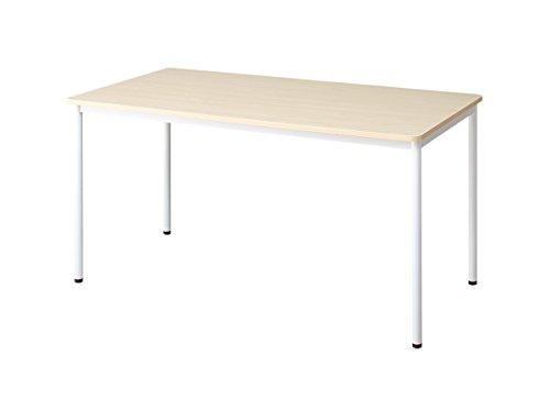 Office/Work ミーティングテーブル(幅120cm×奥行70cm) ナチュラル【AC089665】 B07C8194PK 幅120cm×奥行70cm ナチュラル ナチュラル 幅120cm×奥行70cm