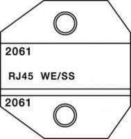Crimp Tool Die, RJ45 Twisted Pair Cable Connectors, Crimp ALL 8000 & 1300 Series Crimp Tool Frames