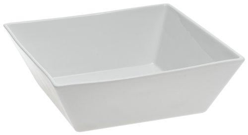 Pillivuyt-Quartet 2-1/2-Quart Square Bowl, White