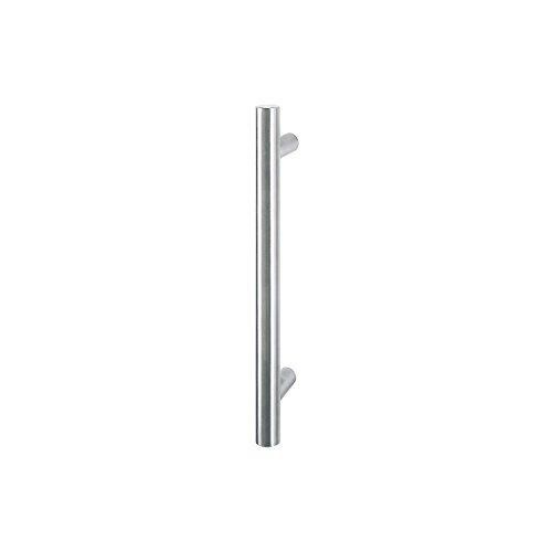 (Hoppe E5011Stainless Steel Matt, Design: Straight, Rod Handle Shock House Door Pull Handle,)