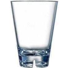 Arcoroc Outdoor Perfect SAN Plastic Rocks Glass, 10 Ounce -- 36 per case.