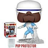 Funko Pop! Disney Pixar: Incredibles 2 - Frozone Vinyl Figure (Bundled with Pop Box Protector Case)