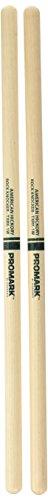 (ProMark Hickory Rock Knocker Custom Wood Tip Drumsticks, TXRK-1W)