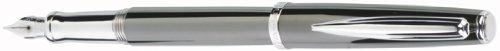 Waterford Marquis Claria Gunmetal Medium Point Fountain Pen - WM-750GUN ()