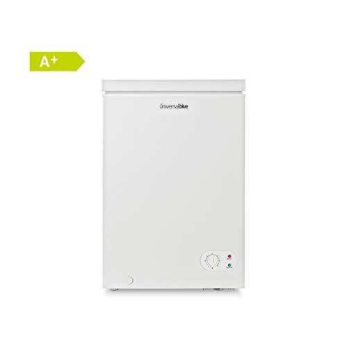 🥇 UNIVERSALBLUE – Congelador Dual – Volumen 100 litros – Congelador eficiencia energética A+ – Congelador Vertical – Congelador Arcón 2 en 1