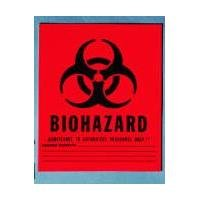 "Medical Action Infectious Waste Bag, Red, 1 Gallon, 11"" x 14.25"", 20/Roll"