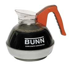Bunn-O-Matic Corporation : 12-Cup Unbreakable Decanter, Decaf, Orange Handle -:- Sold as 2 Packs of - 1 - / - Total of 2 Each