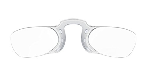 ecac2299f492 Nooz - Armless Reading Glasses - Silver +1 Rectangular - Wherever you go   Amazon.ca  Health   Personal Care