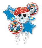 Anagram Pirate Party Balloon Bouquet -