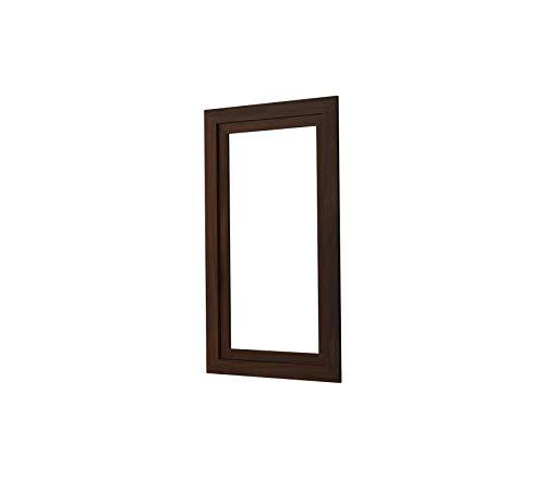 (Home Décor Premium Medicine Cabinet Surround 15-Inch Ramie Walnut Storage Durable Strong Decorative)