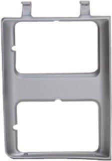 QP G0715-a Chevy C10 C-10 K10 K-10 Silver Passenger Headlight Door Grille