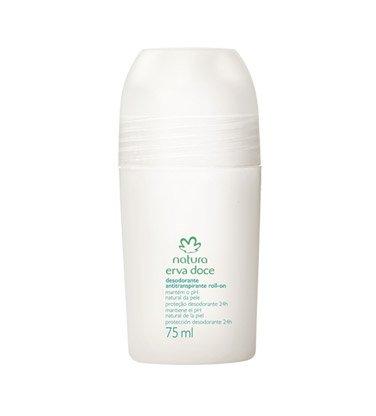 Linha Erva Doce Natura - Desodorante Antitranspirante Roll-On 75 Ml - (Natura Fennel Collection - Roll-on Antiperspirant & Deodorant 2.53 Fl Oz) Nature Anti Perspirant