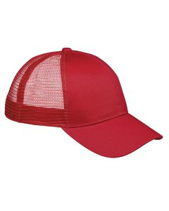 Bagedge Big Accessories (Big Accessories / BAGedge 6-Panel Structured Trucker Cap, red, One Size)
