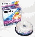 10 Philips Mini DVD-rw for Sony/hitachi Cam
