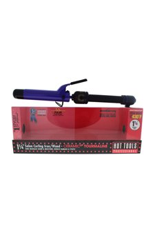 Hot Tools Ceramic Tourmaline Salon Curling Iron/wand - Model # 2110 - Black/purple Curling Iron For Unisex 1 1/4 Inch -  06572410018