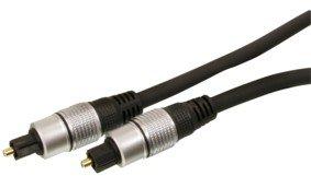 HQ HQSS4623 - Cable óptico (0.75 metros), negro