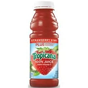 Tropicana Strawberry Kiwi Juice Blend, 10 Ounce -- 15 per case.