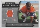 2005 Upper Deck Portraits - Maurice Clarett (Football Card) 2005 Upper Deck Portraits - Memorable Materials #MM-MO