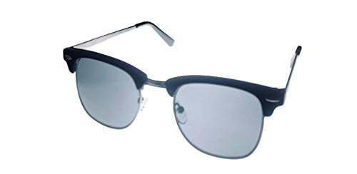 Kenneth Cole Reaction Mens Square Black Metal Sunglass KC1330. 1A