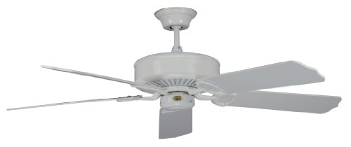 Concord Fans 52MA5WH 52 Inch Madison Ceiling Fan – White