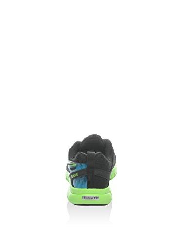 Reebok Zapatillas Sublite Conn Negro / Verde / Azul EU 38.5