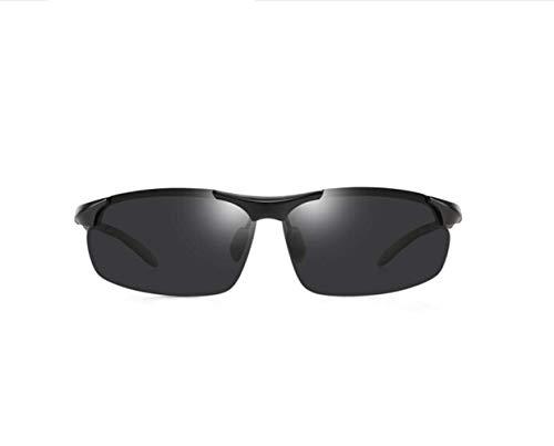 Aluminio Conducción Marco Gris Liwenjun Polarizadas Magnesio Gafas De Negro Y Tabletas Sol wxvzqx