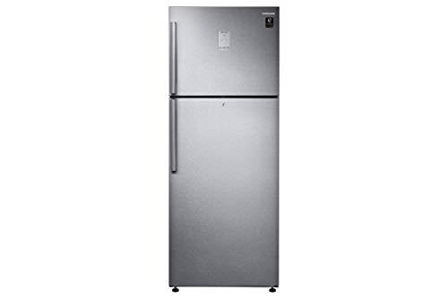 Samsung 478 L 3 Star Inverter Frost Free Double Door Refrigerator  RT49R633ESL/TL, EZ Clean Steel Silver