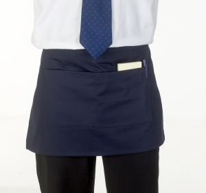 Absolute Unisex Bar / Waiters Apron - Black - One Size AA76