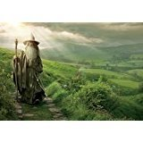 S Gandalf Grass Hills The Lord Of The Rings The Hobbit Gandalf The Footpath W Mouse Pad, Mousepad (10.2 X8.3 X 0.12 Inches)