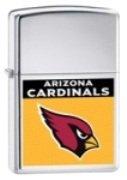 Zippo Lighter NFL Arizona Cardinals, High Polished Chrome