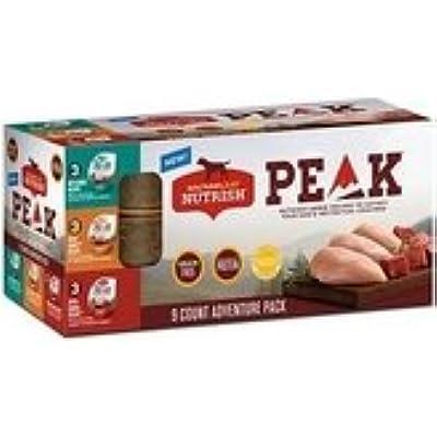 Rachael Ray Nutrish Peak 9 Count Adventure Pack Grain-Free (1-Pack 9-3.5 oz Cups)