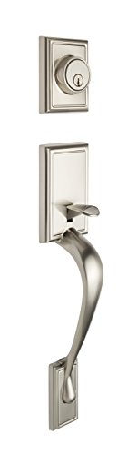 Copper Creek FZ2610SS Fashion Door Handleset Copper Handlesets Single Cylinder