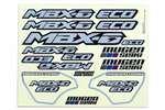 Mugen Seiki MBX6E ECO Decal Set