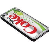 Diet Coke Lime Soda for Iphone Case ( iPhone 5c black)