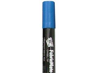 FabricMate Chisel Tip Fabric Marker, Cobalt Blue