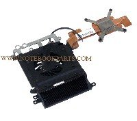 432995-001 - HP Pavilion DV9000 Series Fan & Heat Sink (For use only with AMD processors) - Hp Dv9000 Series Notebooks