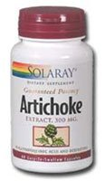 Solaray Artichoke Extract -- 300 mg - 60 Capsules - 2pc
