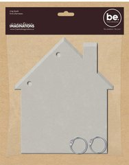 S Bare Elements Chipboard 6 Inch by 6-3/4 Inch Ring Book, Sierra House ()