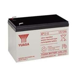 - Yuasa NP1.2-12 SEALED LEAD ACID BATTERY 12VOLT 1.2AH
