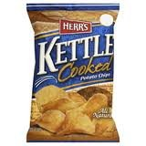 Kettle Cooked Herrs (Herr's Kettle Cooked Potato Chips 1.125 Oz (Pack of 30))