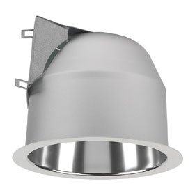 Calculite 6 in. Triple Tube CFL Horizontal Downlight Opal Lens Reflector Trim White Flange