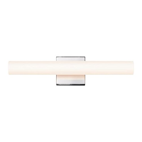 Sonneman 2430.01-FT Transitional Bath Bar from Tubo Slim Led Collection in Chrome Finish, 18