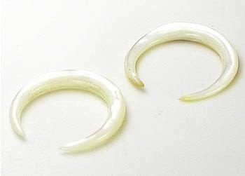 2mm Price Per 1 Organic Body Jewelry 8mm Mother Of Pearl Pincher